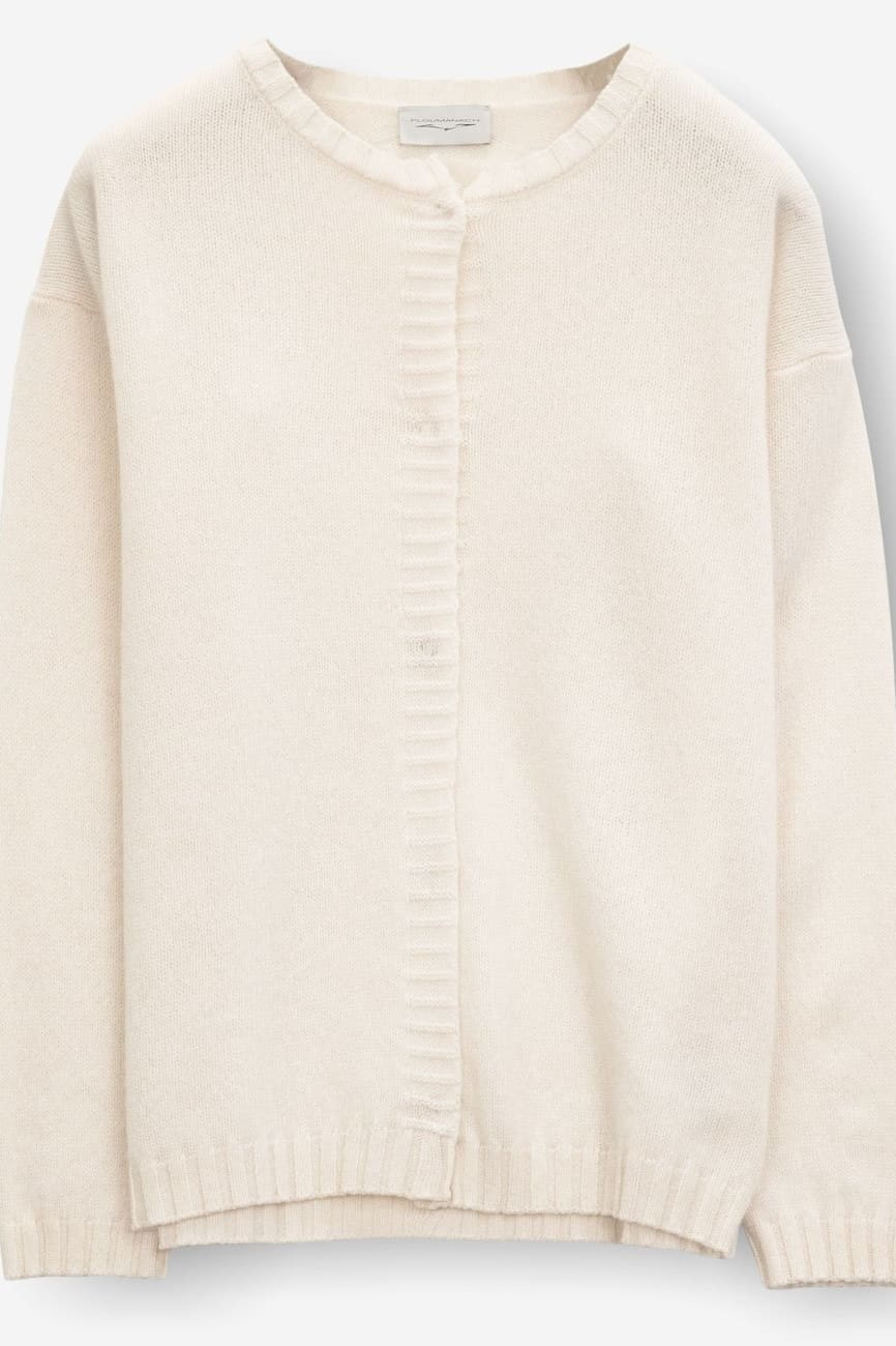 Glame Foam - Women's Cardigan in Cashmere Blend - Sweaters