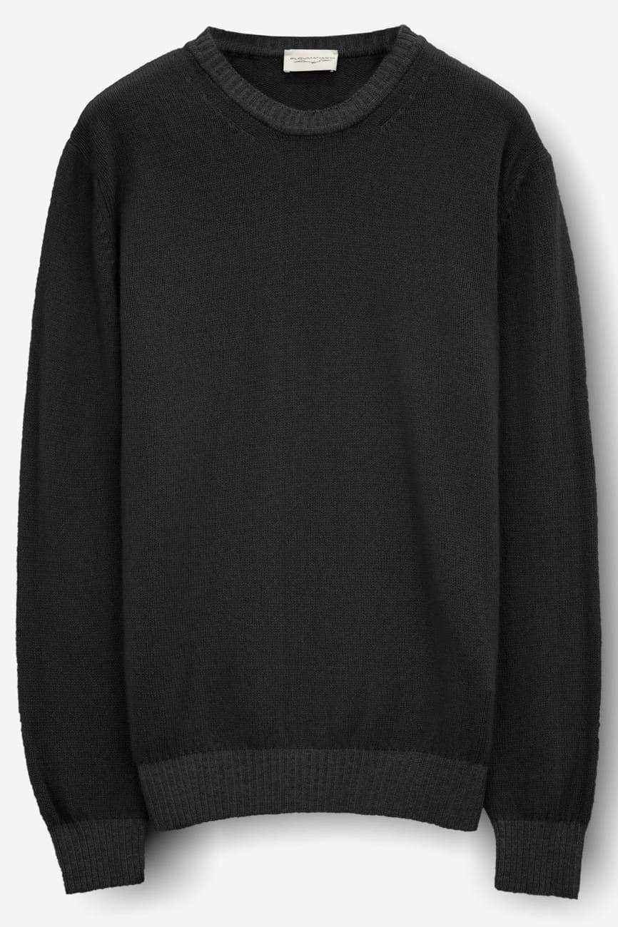 Holden Basalt Cashmere Blend Crew Sweater - Sweaters