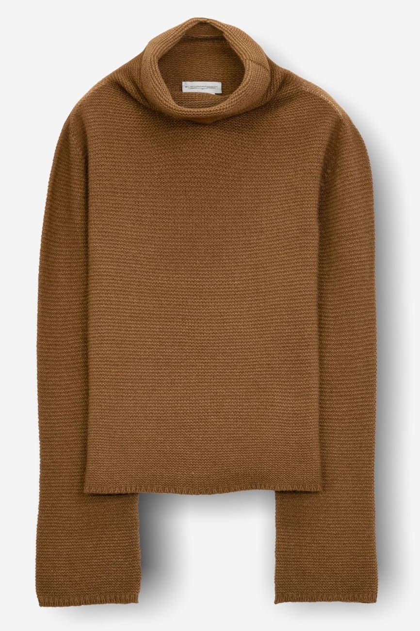 Loch Wood - Women's Cashmere Mini Pullover - Sweaters