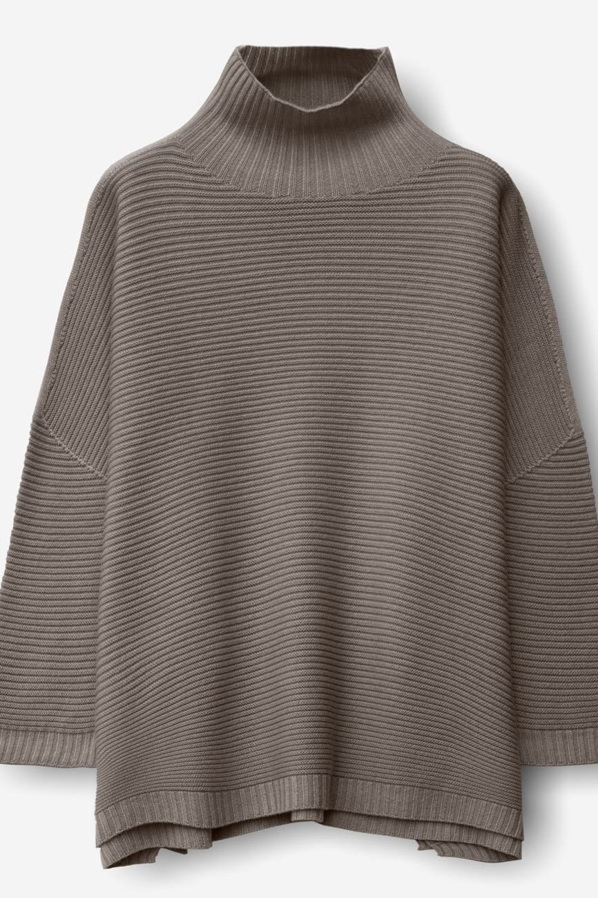 Nedd Castoro | Relaxed Fit Ribbed Merino Sweater |