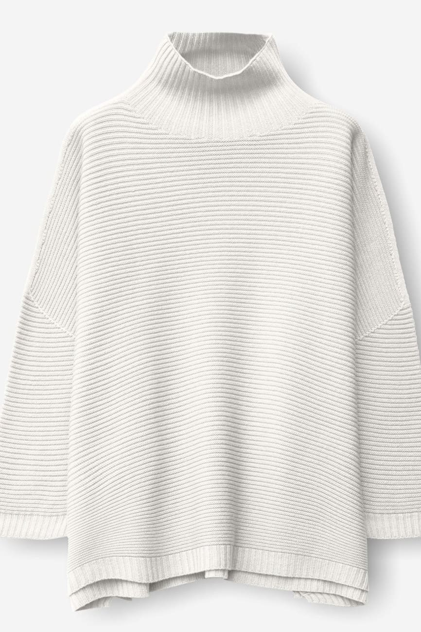 Nedd Foam | Relaxed Fit Ribbed Merino Sweater | Ploumanac'h