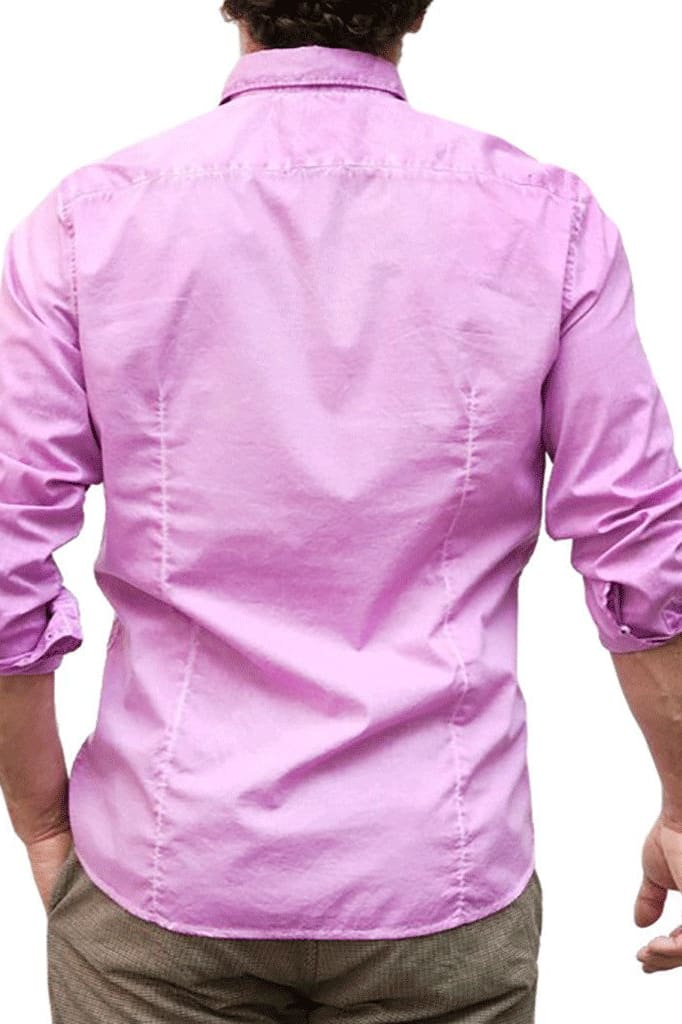 Slim-Fit Stretch Poplin Shirts - Bougainville - Ploumanac'h