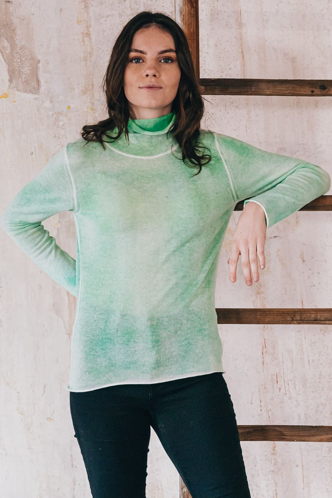 Tay Cashmere - Mint - Sweaters