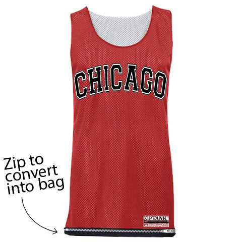 Red Chicago Jersey Bag