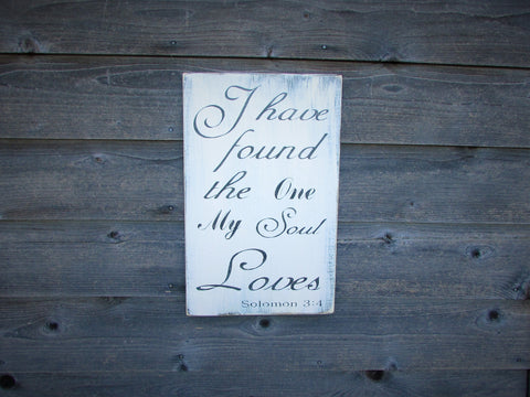 Hand Painted Primitive Rustic Wood Sign, Wedding Decor, Home Decor, Cottage  Chic Home