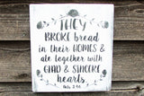 kitchen sign, wood sign, hand painted sign, rustic sign, kitchen decor, primitive kitchen,country home decor, shabby chic decor,