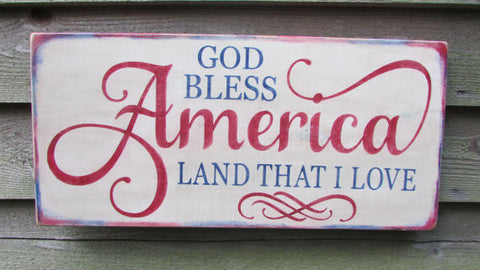 country home decor, wood signs, family rules signs, home decor, americana decor, patriotic sign, primitive home decor, country home decor 4th of july sign