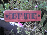 primitive country kitchen sign, rustic kitchen sign, primitive country home decor, rustic home decor, wood signs, hand painted signs