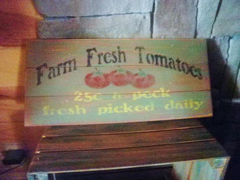 primitive wood signs, country kitchen signs by Mockingbird Primitive