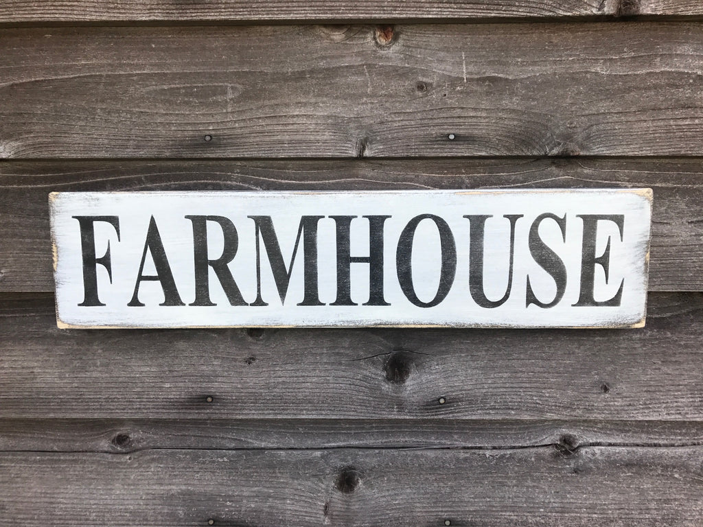 Farmhouse Sign Farmhouse Decor Primitive Home Decor