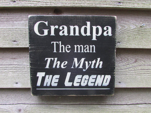Country home decor, wood signs, home decor, grandfather sign, family rules signs, primitive signs, funny signs