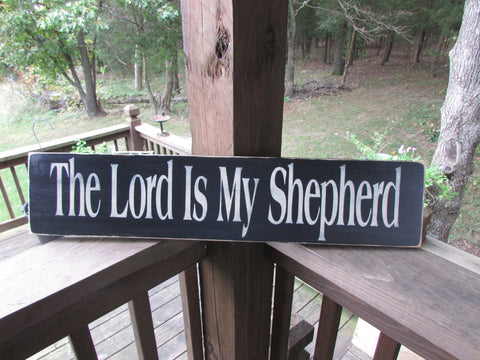 primitives country decor,The Lord is my shepherd. Wood sign, scripture sign,  sign, wall decor primitive sign, primitive home decor