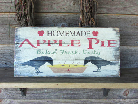primitive rustic home decor, country kitchen sign,  hand painted wood signs