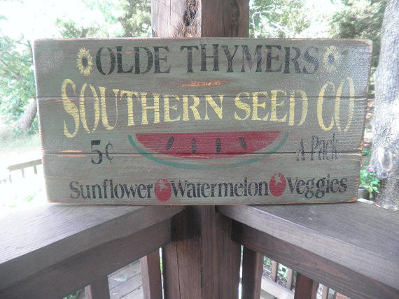 primitive rustic decor, kitchen decor, hand painted wood sign, by mockingbird primitive