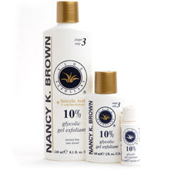Nancy K. Brown Aloe Exfoliant GLYCOLIC 10% + 2% SALICYLIC ACID* (BHA) - Your Skin Care Clinic