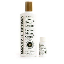 Nancy K. Brown 12% Glycolic Hand & Body Lotion - Your Skin Care Clinic