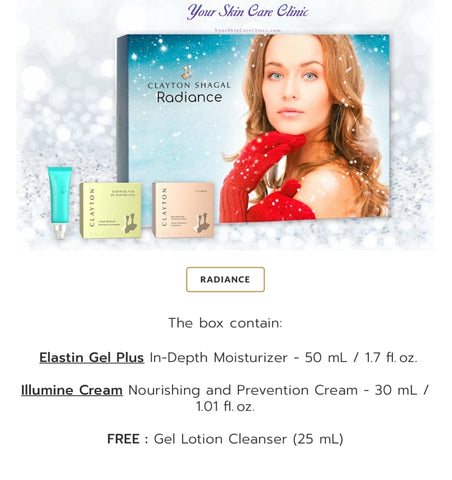 Clayton Shagal Radiance Kit (Holiday Special) - Your Skin Care Clinic