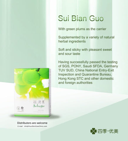 20 boxes of Suibianguo (Share Plum) ship within Canada - Your Skin Care Clinic