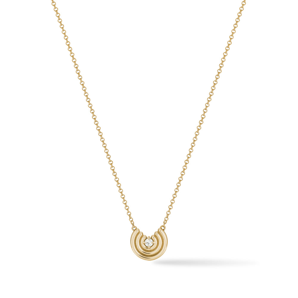 Petite Revival Necklace Diamond