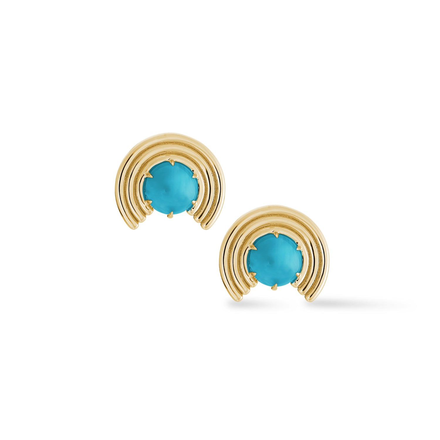 Grand Revival Studs Turquoise