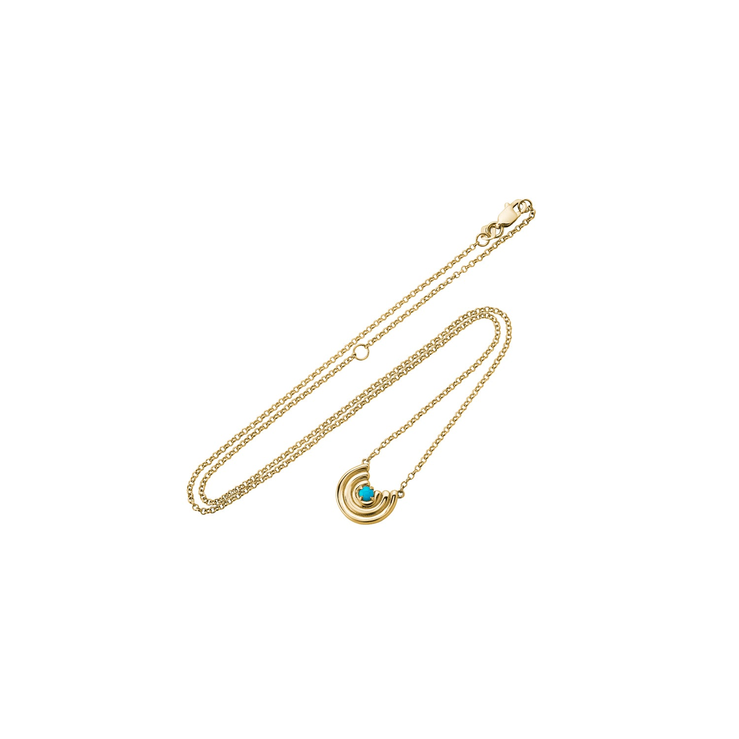 Petite Revival Necklace Turquoise