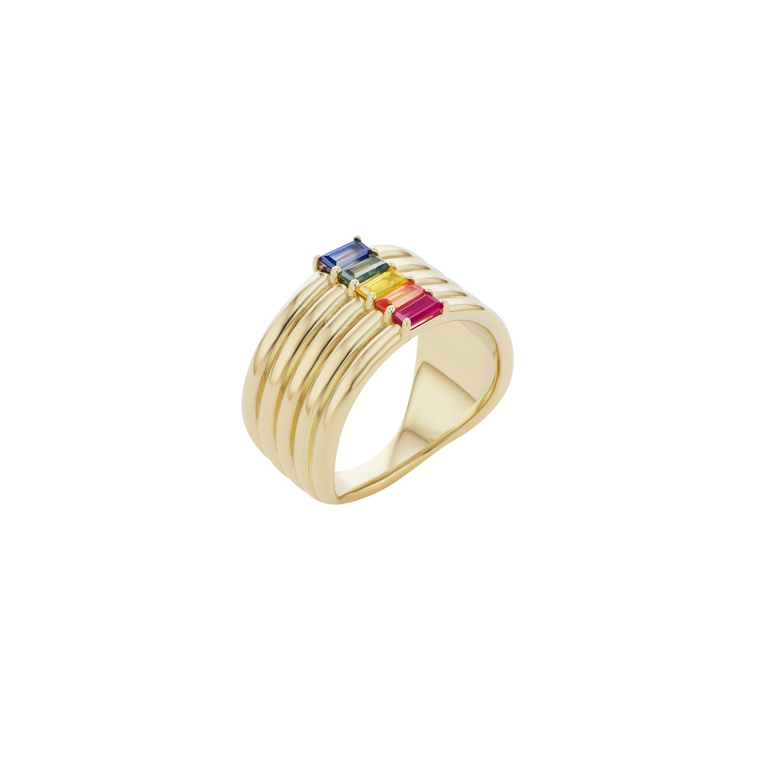 Revival Rainbow Stack Ring