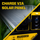 Rover 300 Portable Power Station with Solar Charging