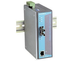 Industrial Fiber Media Converter with DIN-RAIL Mouting