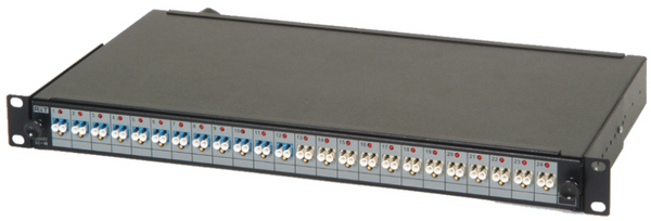 Fiber Patch Panel with Fixed Lid Design
