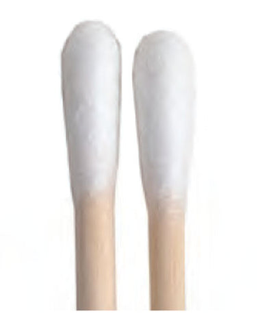 General Purpose Cotton Swabs - 100 Swabs/Bag