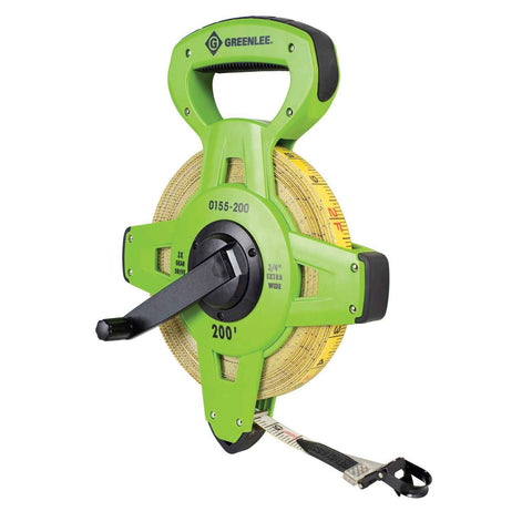 Greenlee Fiberglass Measuring Tape - 200 Feet