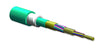 MIC DX Armored Cable, Plenum, 24 F, Laser-Optimized 50/125 µm multimode (OM3)