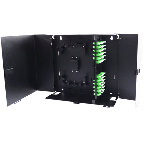8 Adapter Plate Deluxe Wall Mount Enclosure (Unloaded)