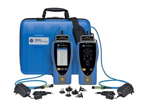Ideal Networks LanTEK IV 3000MHz Cable Certifier. TIA Cat 8