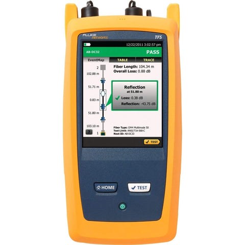 Fluke OPTIFIBER® Pro OTDR - Single Mode, Extended Certif. Inspect Kit