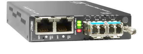 Industrial grade Gigabit Ethernet 4 port switch with web based management support