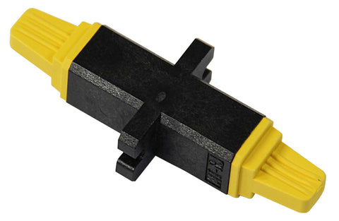 MTRJ Multimode Mating Sleeve, Polymer Housing, Standard MT-RJ Cut Out