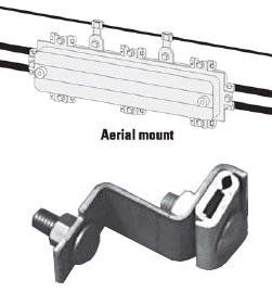 Multilink Broadband 1100-A Aerial Hanger Brackets for Starfigher Closures - Pair
