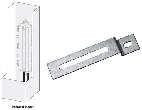 Multilink Broadband 1100-P Pedestal Mount Brackets for Starfigher Closures - Pair