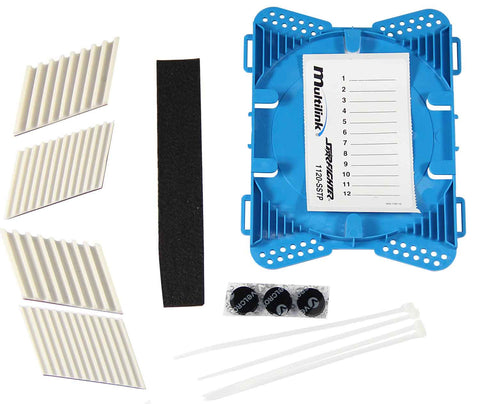 Multilink 12 Position Plastic Splice Tray