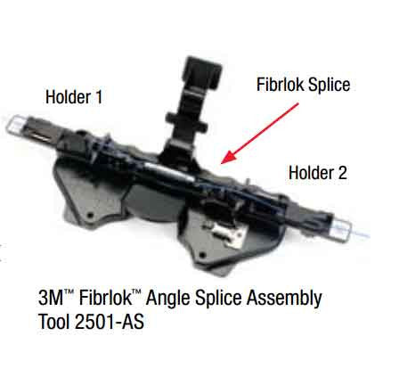3M(TM) Fibrlok(TM) Angle Splice Assembly Tool