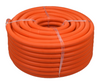 "250 Feet - 1"" Single Wall Plenum Rated Corrugated Fiber Innerduct with Pull Rope - PVDF"