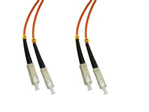 SCP-SCP-MD6 - SC/PC to SC/PC multimode 62.5/125 duplex fiber optic patch cord cable, 5m