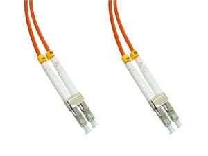 LCP-LCP-MD5 - LC/PC to LC/PC, multimode 50/125 duplex fiber optic patch cord cable, 10m