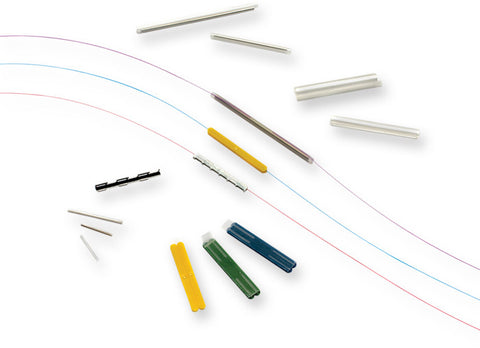 Corning's Single Fiber Heat-Shrink Fusion Splice Protection Sleeve, 60mm Long, 50/pack