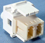 LC QuickPort Fiber Adapter, Single Mode and Multimode, MFR Leviton