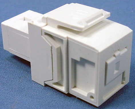 SC QuickPort Fiber Adapter, Multimode, MFR Leviton