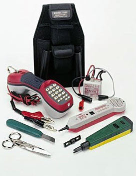 Tempo Telecom Technician Kit With Carrying Case Fosco