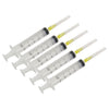 Empty Syringe 10cc and 0.9mm Needle (5pcs/pack) - FOSCO (Fiber Optics For Sale Co.) - 3