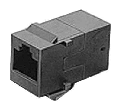 Adapter Mod In-Line Coupler 8P8C Rj45 Keyed